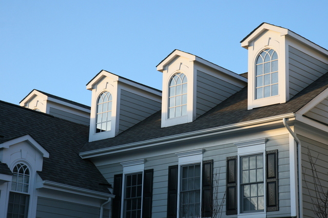 Budova, dom, okná