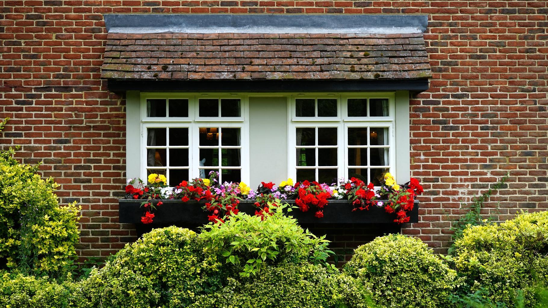 okná, dom