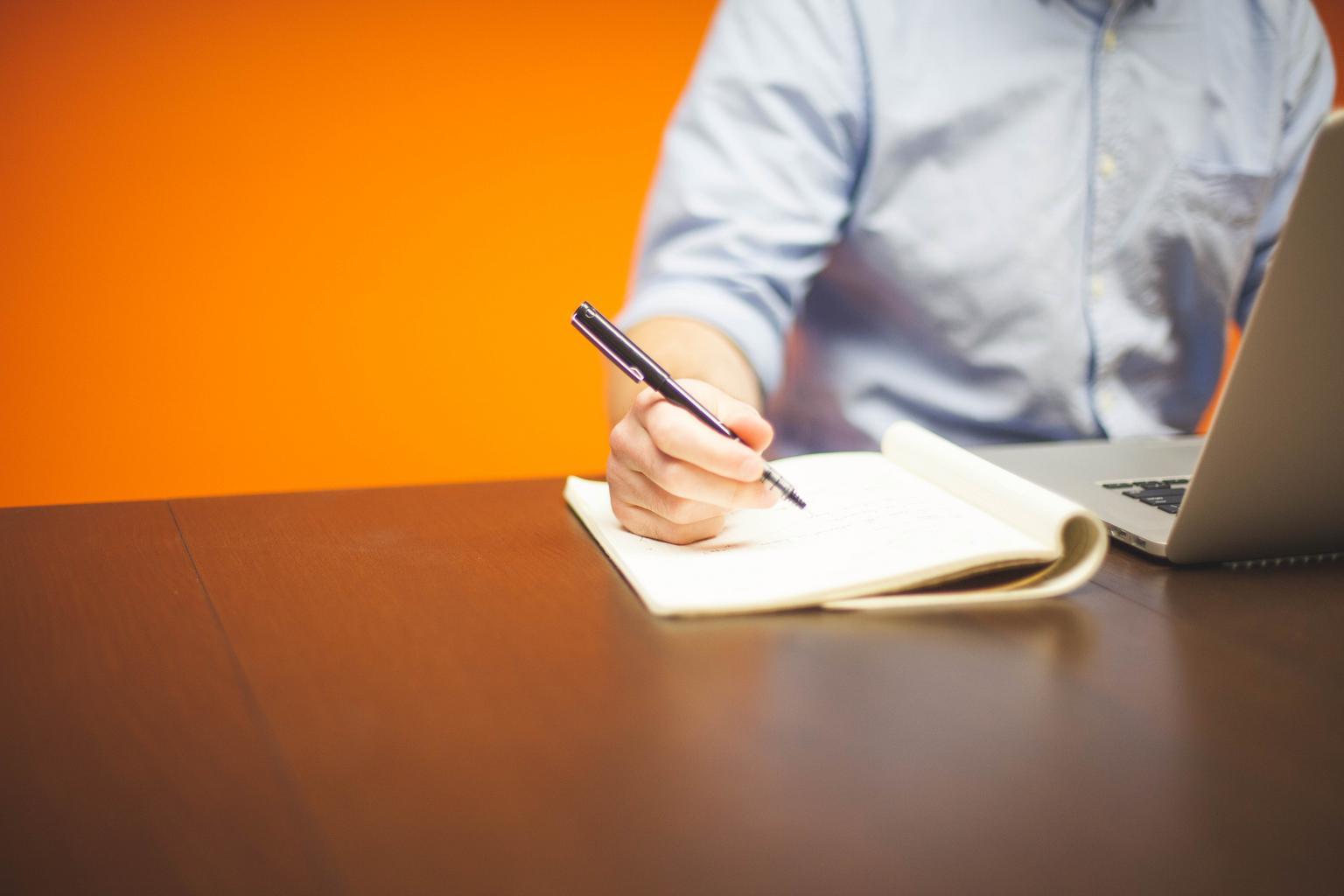podnikateľ, zapisovanie
